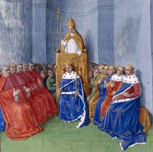 Le Pape Urbain II prêche la Croisade au Concile de Clermont (1095)
